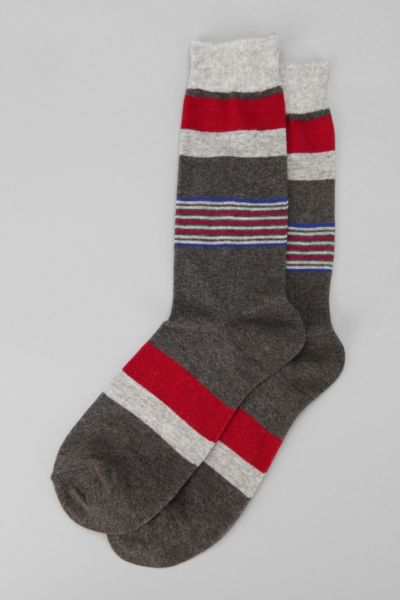 Multistripe Space-Dyed Sock