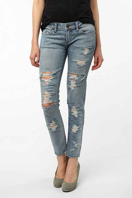BLANKNYC Destructed Jean