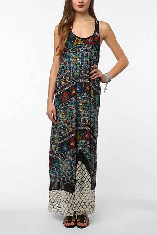 Silence & Noise Kingston Maxi Dress