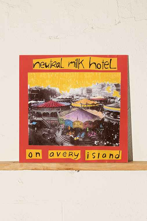 Neutral Milk Hotel - On Avery Island LP + MP3,ASSORTED,ONE SIZE