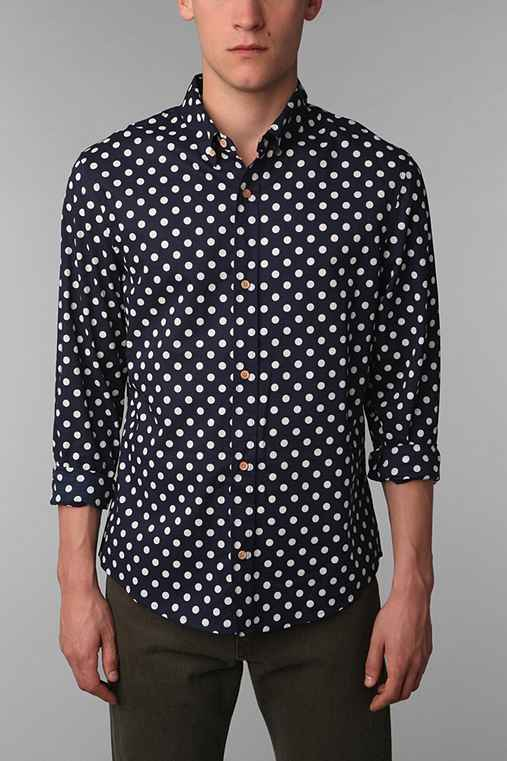 Your Neighbors Dress Polka Dot Shirt