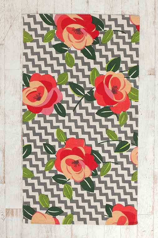 Thumbnail image for Plum & Bow Rose Stripe Rug  (Multiple Sizes Available!)