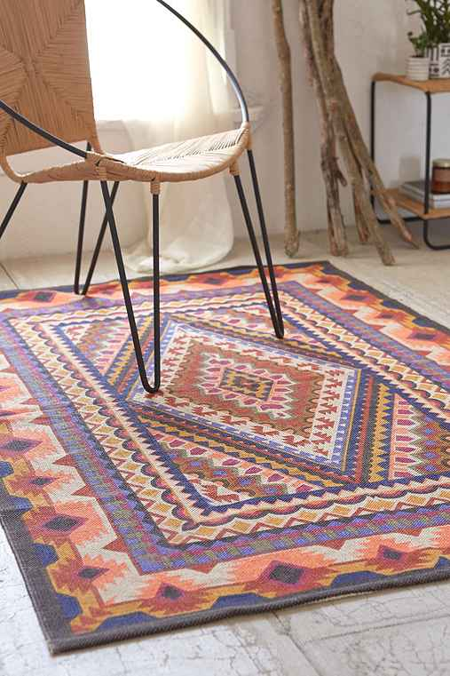 Magical Thinking Diamond Medallion Printed Rug
