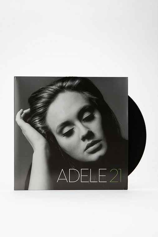 Adele - 21 LP + MP3,BLACK,ONE SIZE