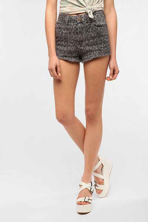 BDG High-Rise Cheeky Short - Grey