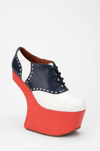 Jeffrey Campbell Night-Walk Saddle Shoe