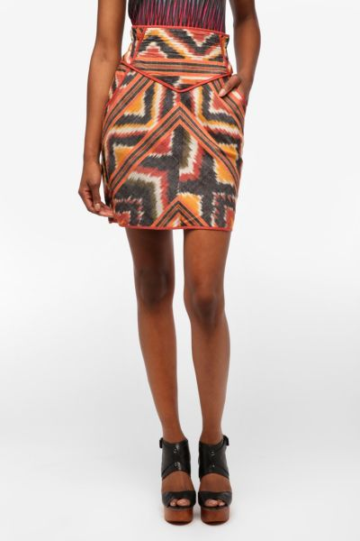 Staring at Stars Ikat Pencil Skirt