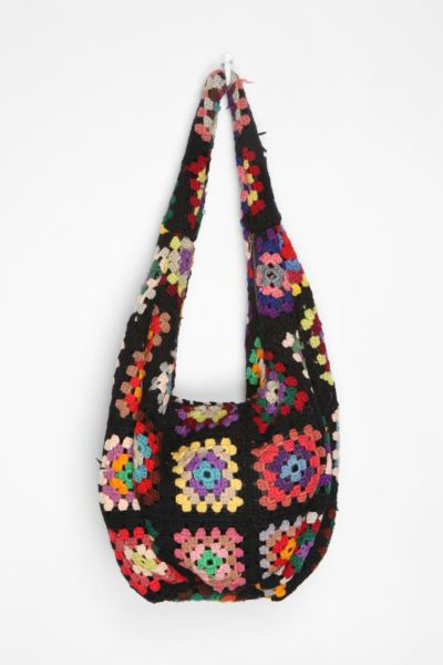 Crochet Hobo Bag : Urban Outfitters - Urban Renewal Crocheted Hobo Bag customer reviews ...