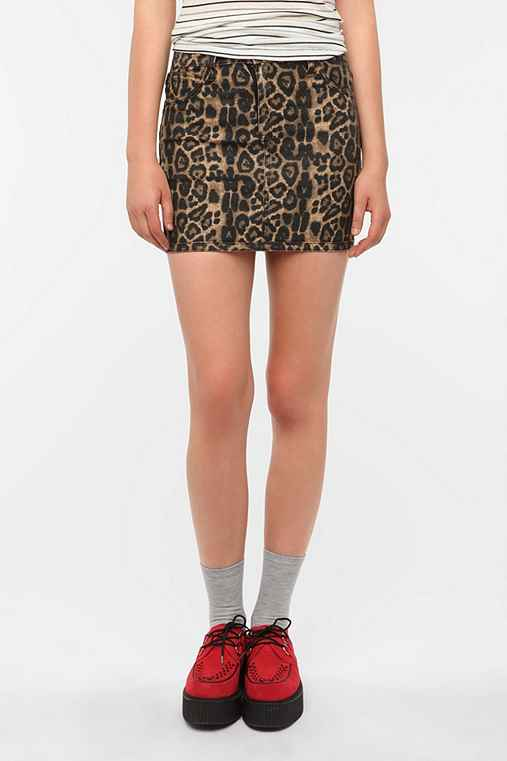 Tripp NYC Animal Reversible Skirt