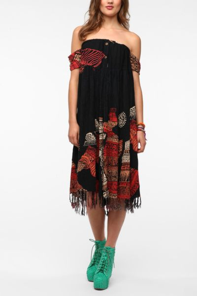 Urban Renewal Stulich Gauze Dress