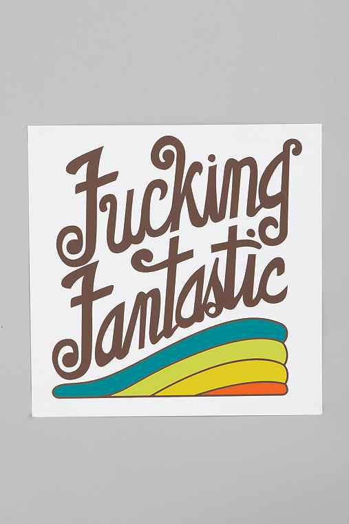 Thumbnail image for Brainstorm Print & Design F*cking Fantastic Print