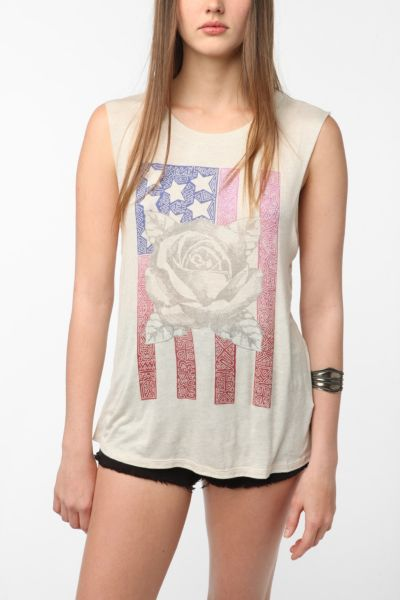American Flag Shirt Urban Outfitters