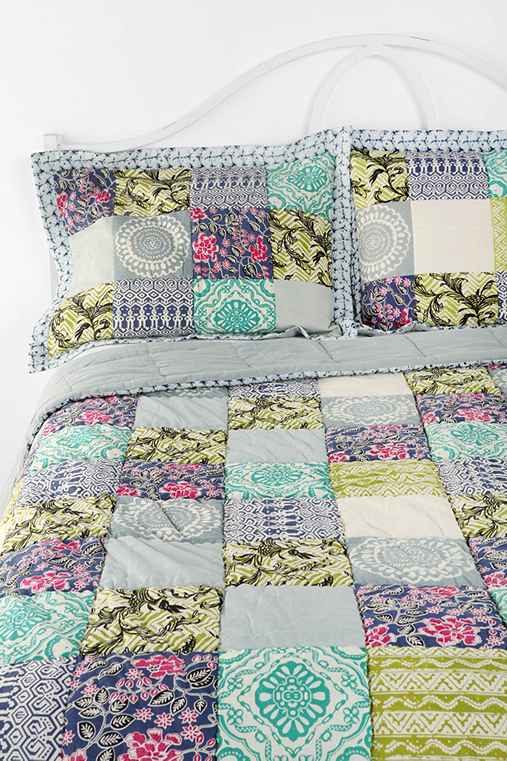 Magical Thinking Bali Patchwork Sham - Set Of 2