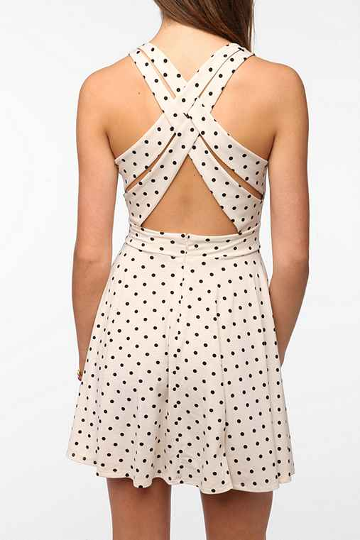 Pins and Needles Strappy Back Circle Dress