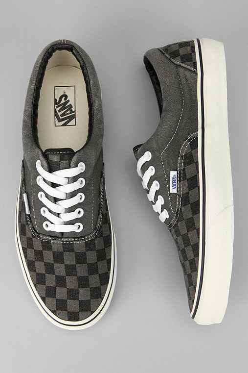 Vans Washed Checkerboard Era Sneaker