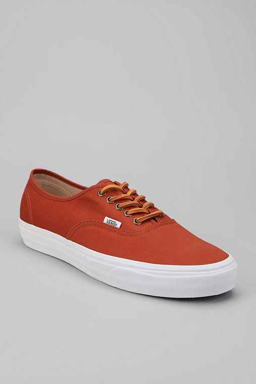 Vans Brushed Twill Authentic Sneaker