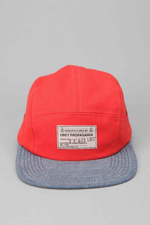 OBEY Munition 5-Panel Hat
