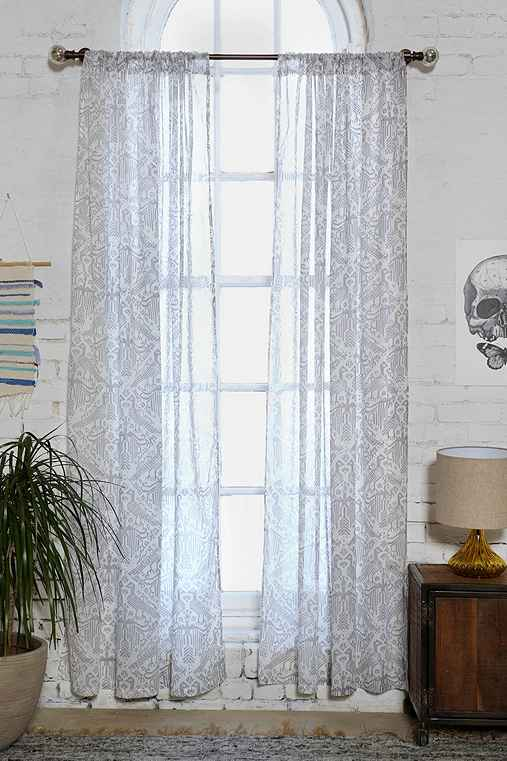Magical Thinking Aviary Curtain Urban Outfitters
