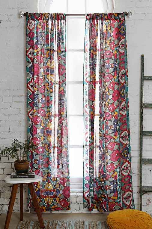 Magical Thinking Painted Eye Curtain