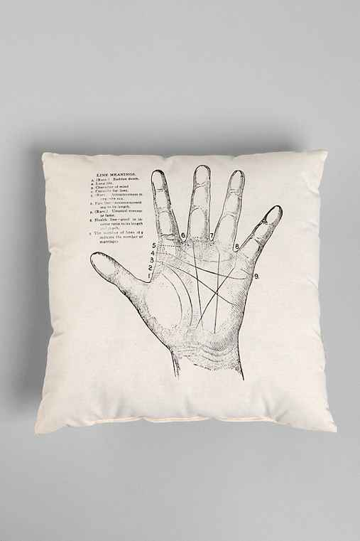 Thumbnail image for The Rise and Fall Palmistry Pillow
