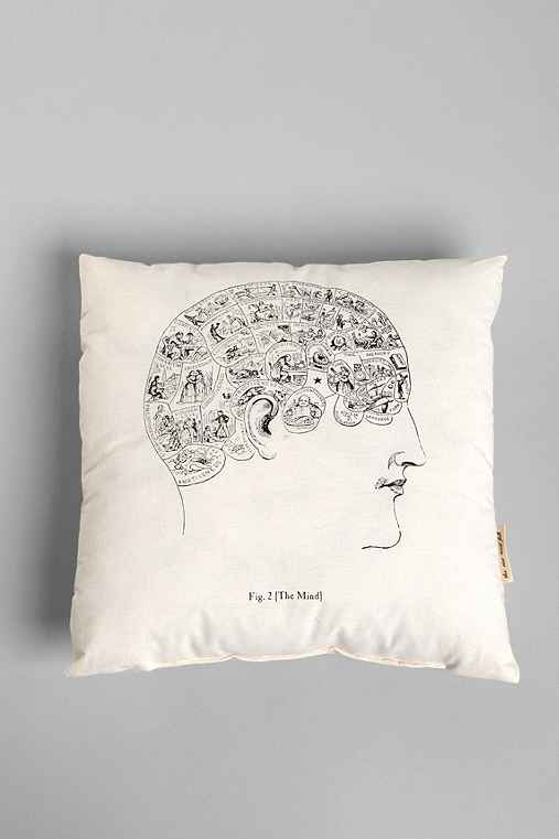Thumbnail image for The Rise and Fall Phrenology Pillow
