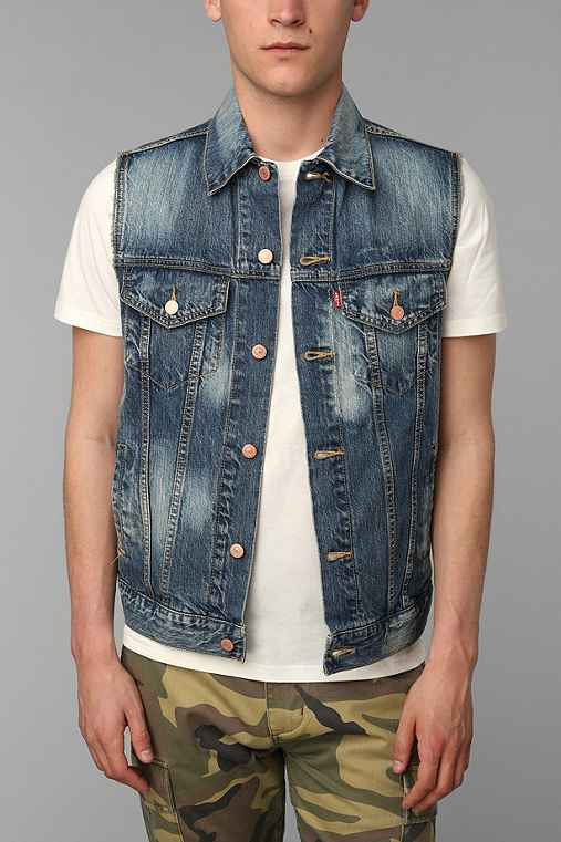 Levi's Bull Wash Denim Vest