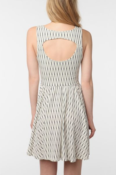 byCORPUS Cutaway Skater Dress
