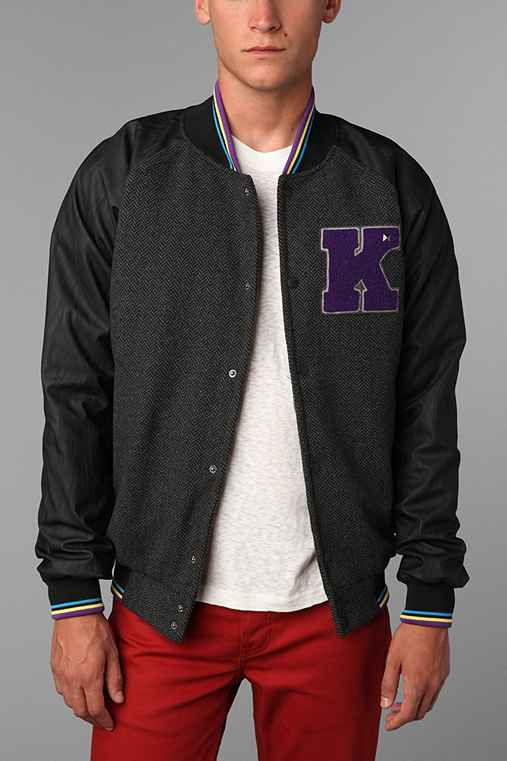 KR3W Breakdown Wool Varsity Jacket