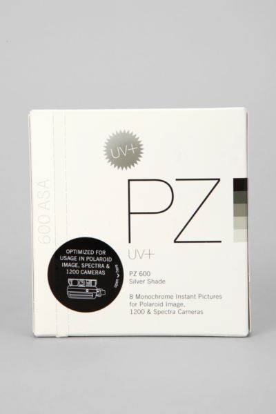 PZ 600 Silver Shade Film By Impossible Project