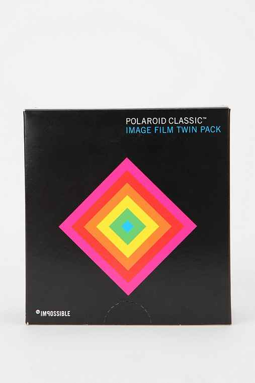 Limited Edition Polaroid Classic Instant Film By Impossible Project - Pack Of 2