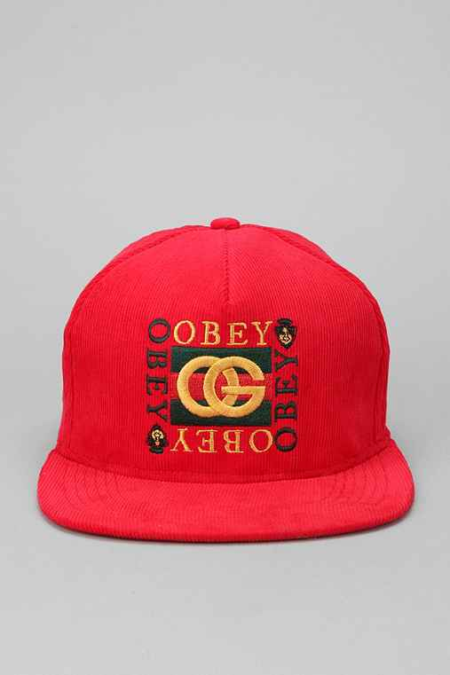 OBEY Knockoff Corduroy Hat