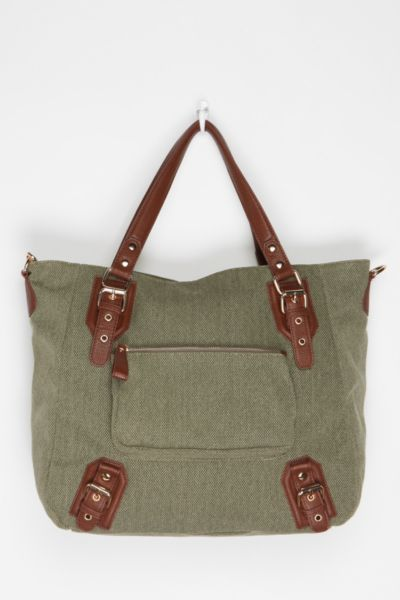 BDG East/West Canvas Tote Bag
