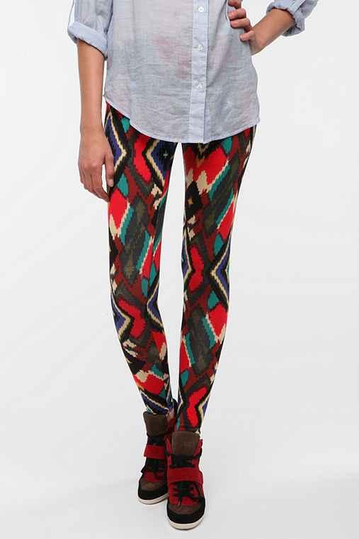 Sparkle & Fade Geometric Print Legging