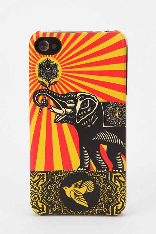 Shepard Fairey X Incase iPhone 4/4s Case - Gold