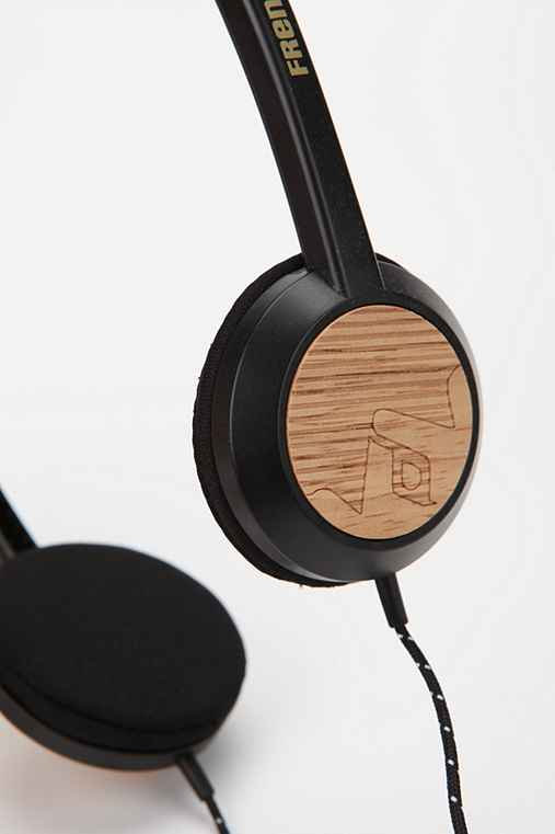 Frends Alli Mic Headphones - Wood