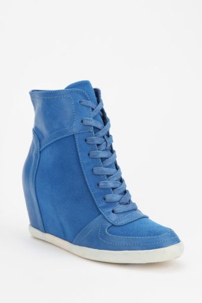 Deena & Ozzy High-Top Wedge-Sneaker