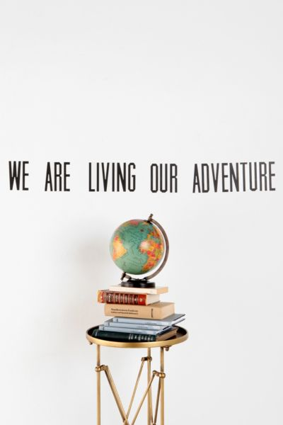 We Are Living Wall Decal