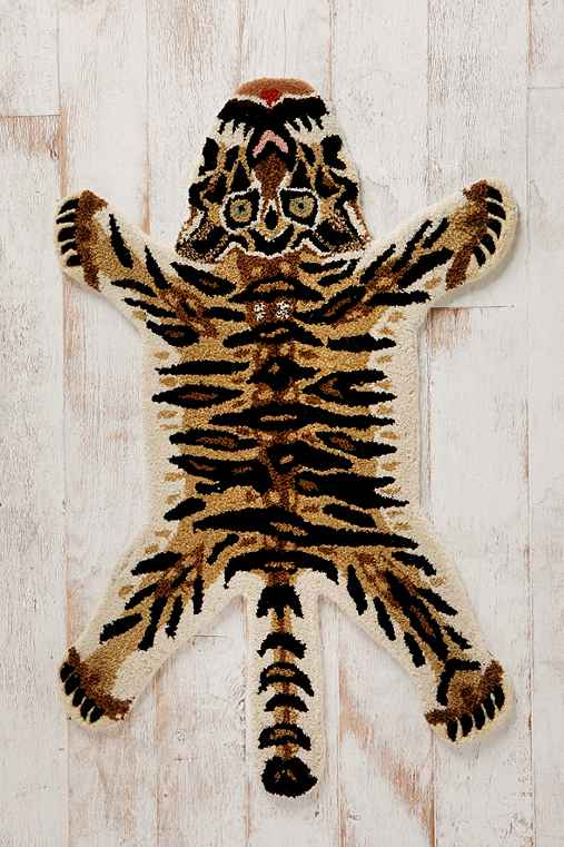 Thumbnail image for Tufted Jungle Cat Rug