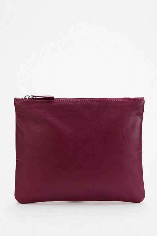 Cooperative Large Leather Pouch