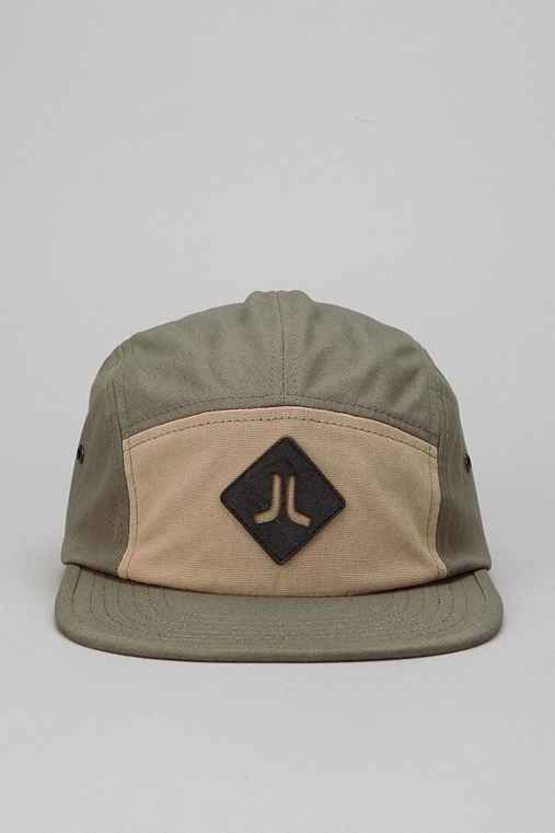 WeSC Suede Patch 5 Panel Hat