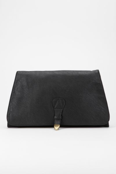 Ecote Oversized Arrow-Snap Clutch