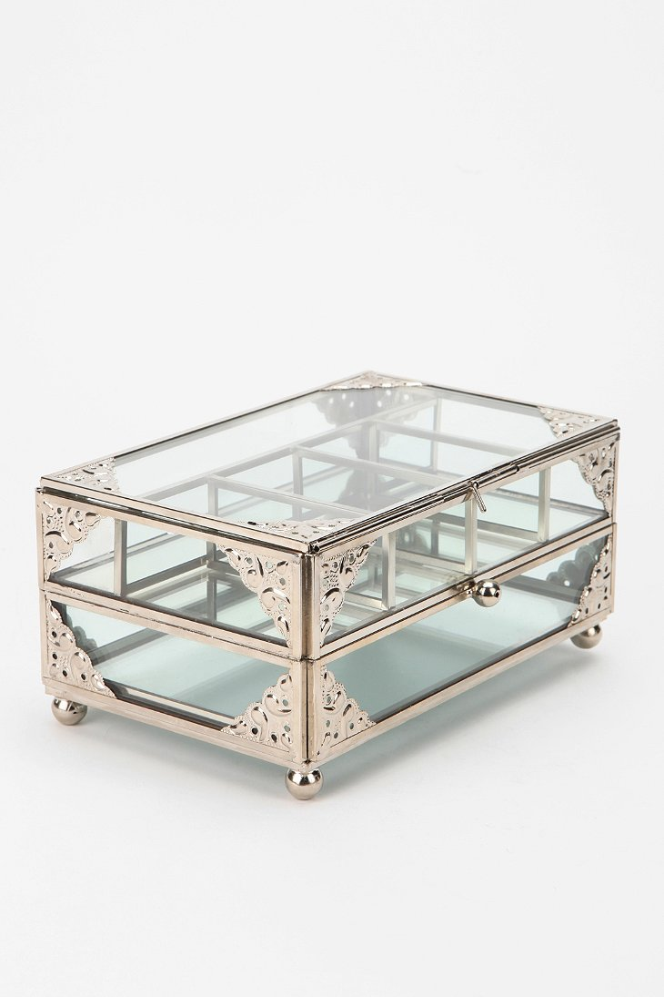 Glass Jewelry Box Urban Outfitters