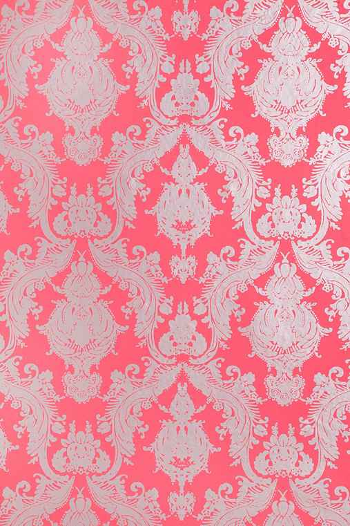 Damsel Removable Wallpaper - Coral
