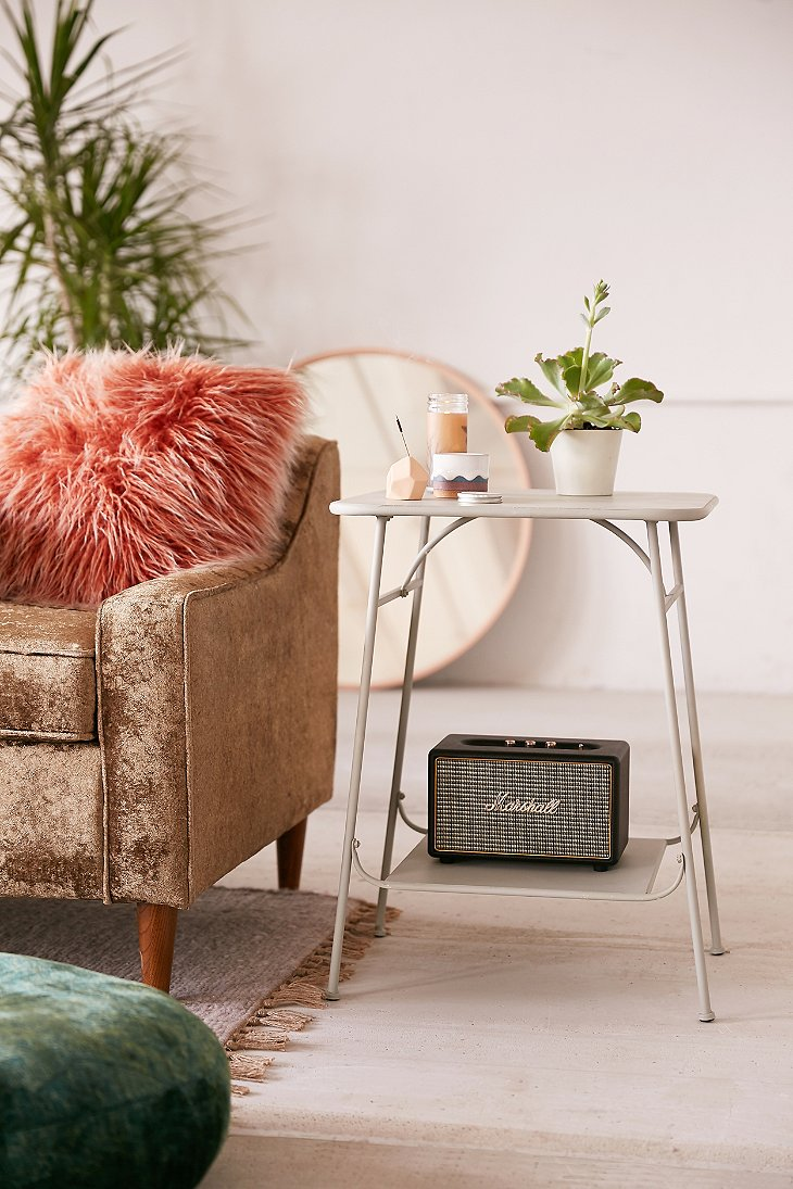 Factory side table urban outfitters for Table design using jsp