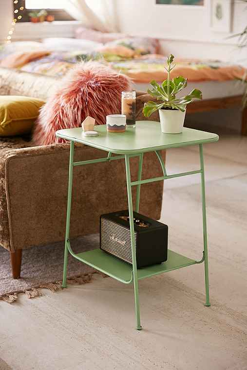 Factory Side Table,MINT,ONE SIZE
