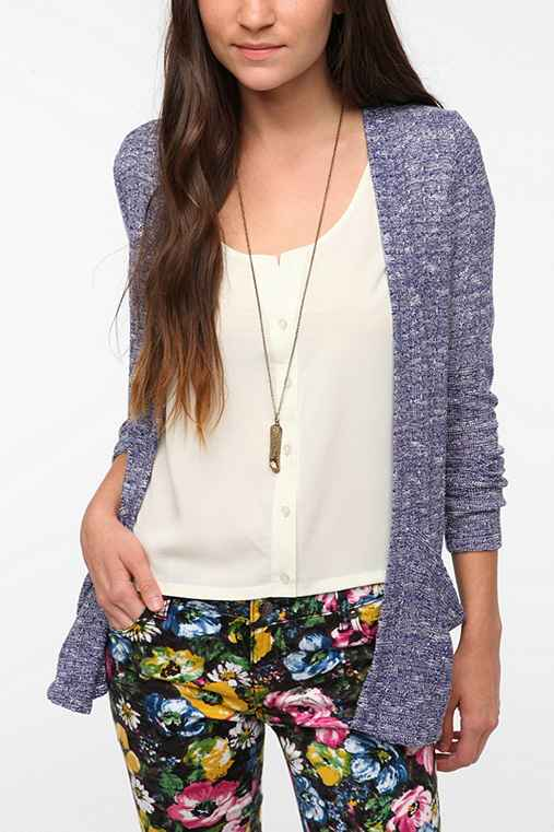 Sparkle & Fade Drape Pocket Cardigan