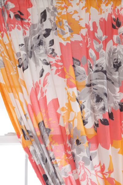 Plum & Bow Wildflower Curtain