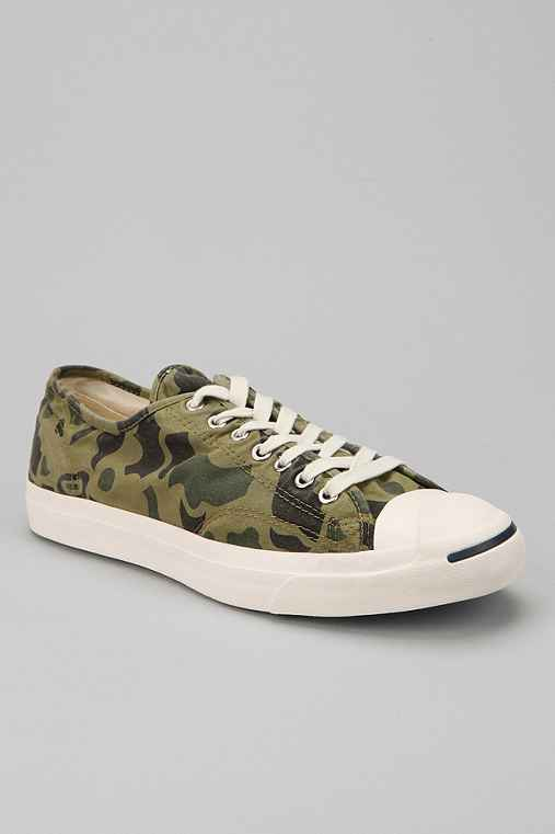 Converse Jack Purcell Camo Sneaker