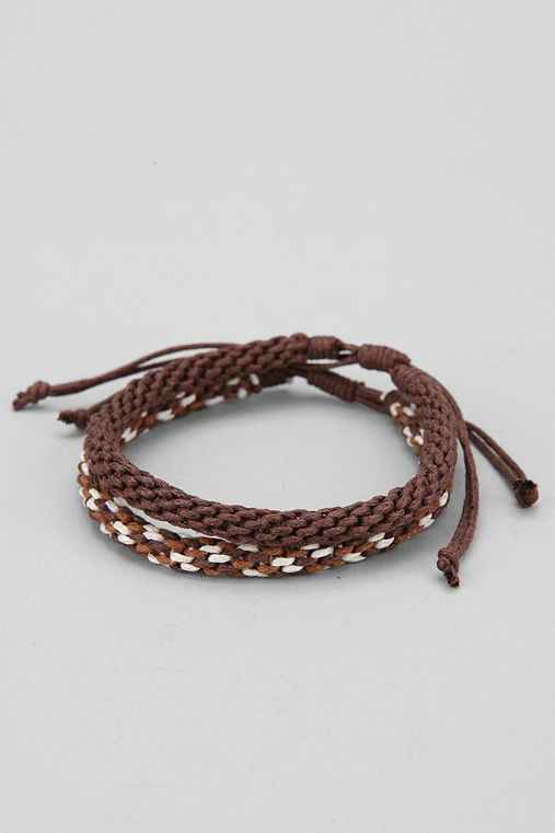 Braided Cord Bracelet - Pack of 2