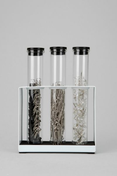 Test Tube Office Supply Set